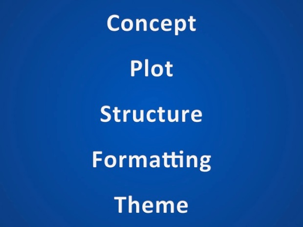 concept plot structure formatting theme